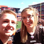 Jack and Jills first Browns game!